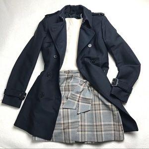 Zara | Satin Trench Coat